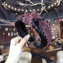 Cloth Vintage Bows Hair accessories  Pink  Fashion Jewelry NHSM0062Pink