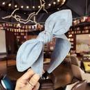 Cloth Simple Bows Hair accessories  Light cowboy  Fashion Jewelry NHSM0081Lightcowboy