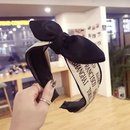 Cloth Korea Bows Hair accessories  letter  Fashion Jewelry NHSM0127letter