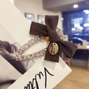 Cloth Simple Bows Hair accessories  black  Fashion Jewelry NHSM0132black