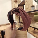 Cloth Vintage Bows Hair accessories  black  Fashion Jewelry NHSM0139black