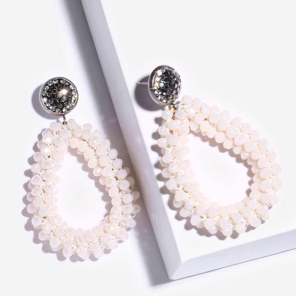 Alloy Korea bolso cesta earring  (white)  Fashion Jewelry NHAS0463-white