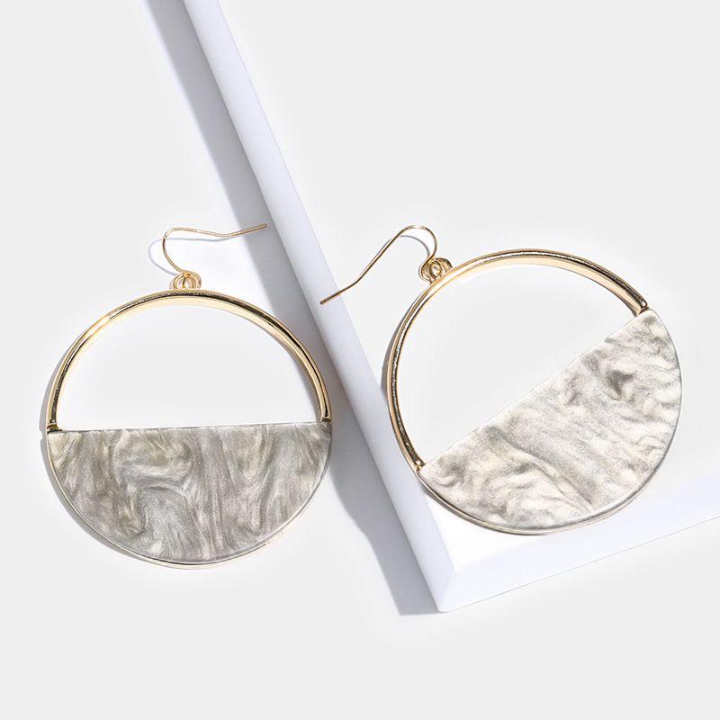 Alloy Fashion Geometric earring  (Photo Color)  Fashion Jewelry NHAS0466-Photo-Color