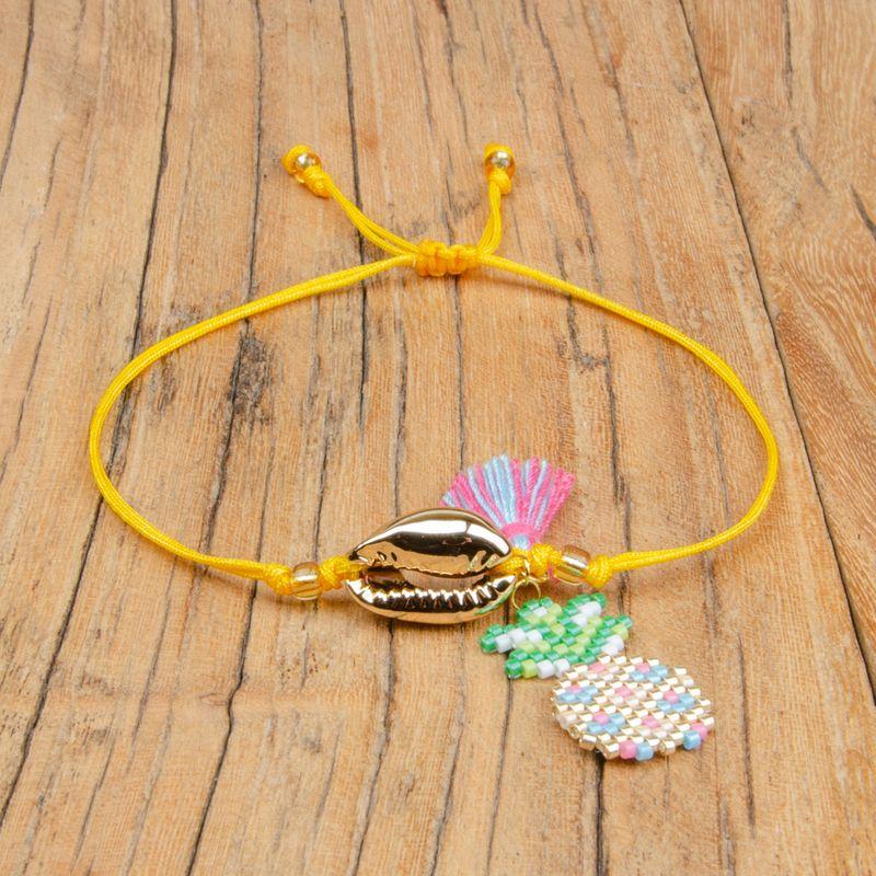 Alloy Fashion Tassel bracelet  (MI-B180458)  Fashion Jewelry NHGW1275-MI-B180458