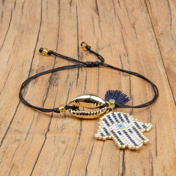 Alloy Fashion Tassel bracelet  (MI-B180464)  Fashion Jewelry NHGW1274-MI-B180464