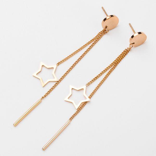 Alloy Korea Tassel earring  (Alloy)  Fashion Jewelry NHJE2580-Alloy