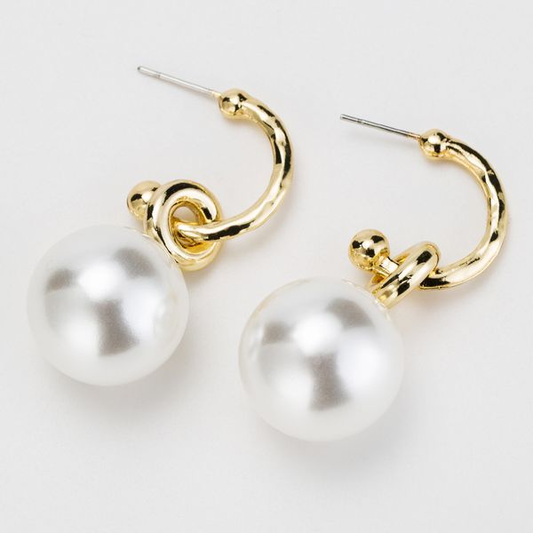 Beads Fashion Geometric earring  (Alloy)  Fashion Jewelry NHJE2596-Alloy
