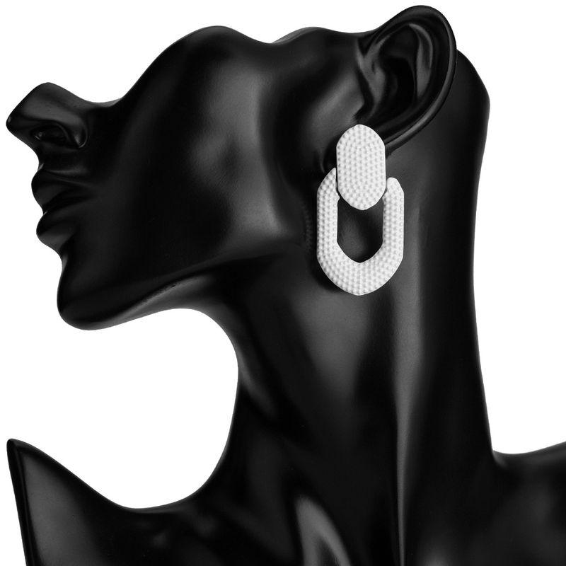 Alloy Fashion Geometric earring  (white)  Fashion Jewelry NHJE2598-white