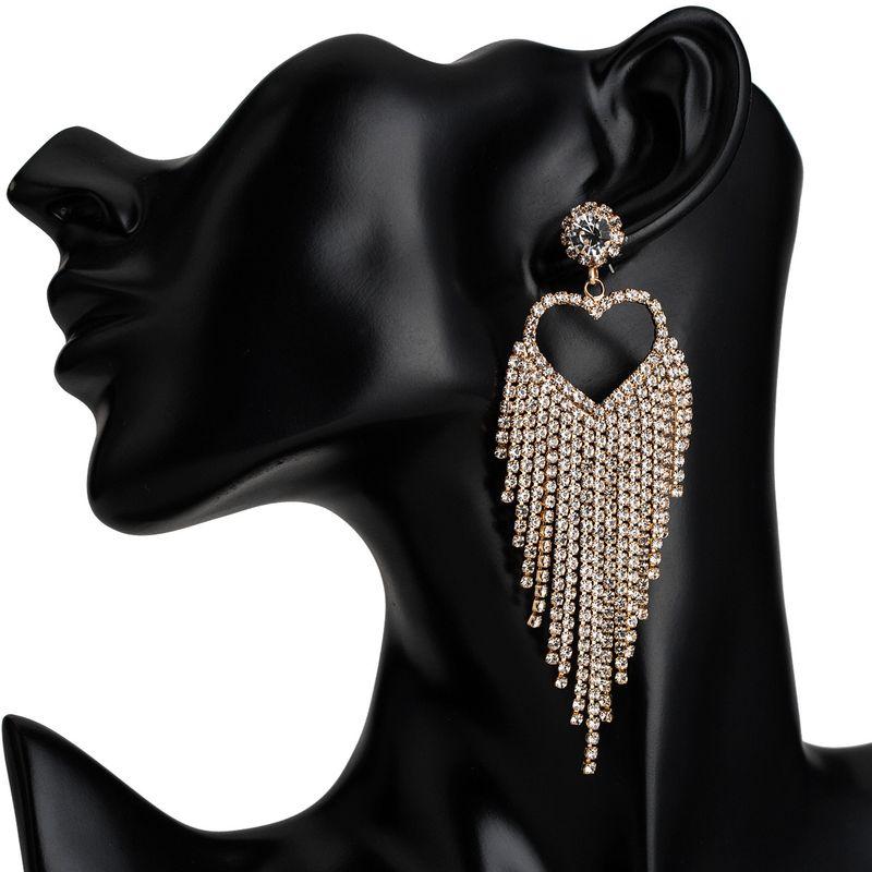 Acrylic Fashion Sweetheart earring  (Alloy)  Fashion Jewelry NHJE2614-Alloy