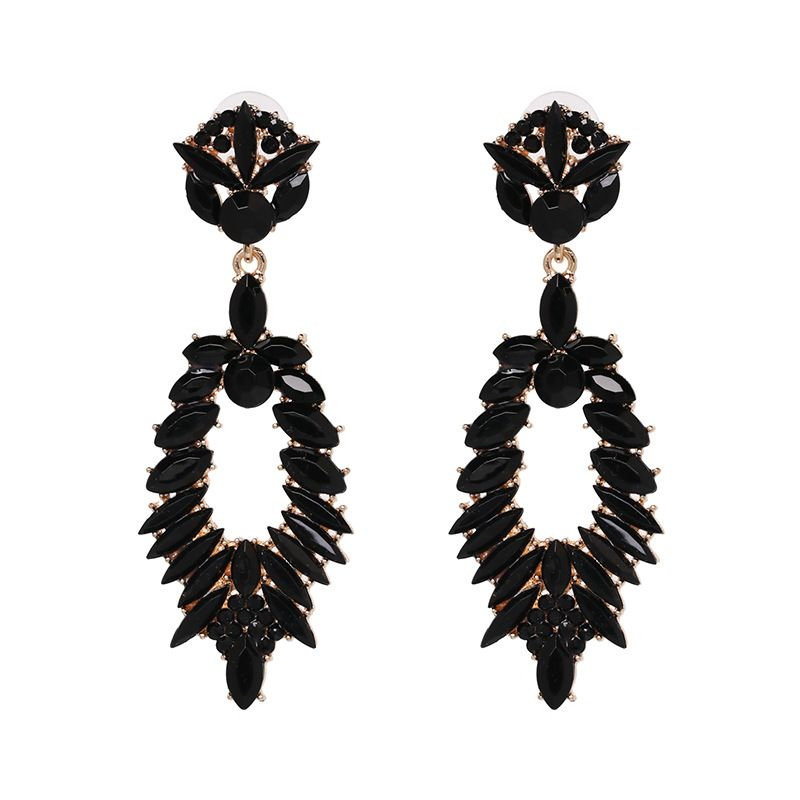 Alloy Fashion Geometric earring  black  Fashion Jewelry NHJJ5551black