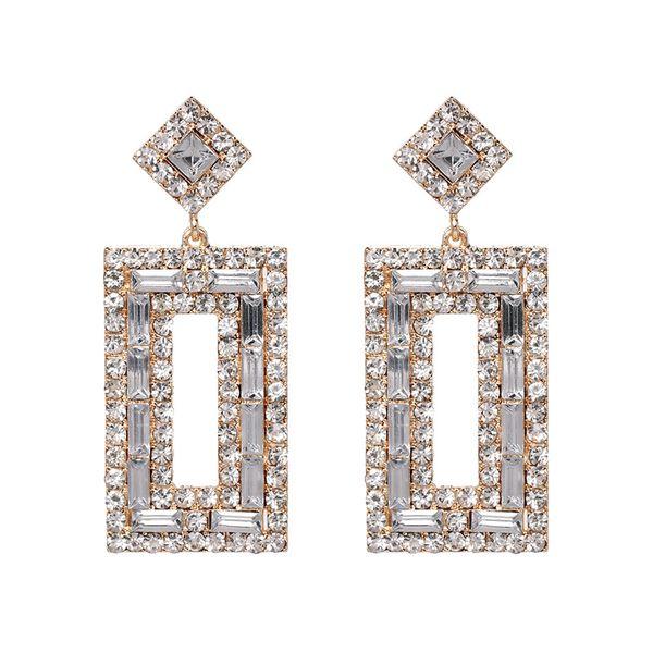 Alloy Fashion Geometric earring  (white)  Fashion Jewelry NHJJ5555-white