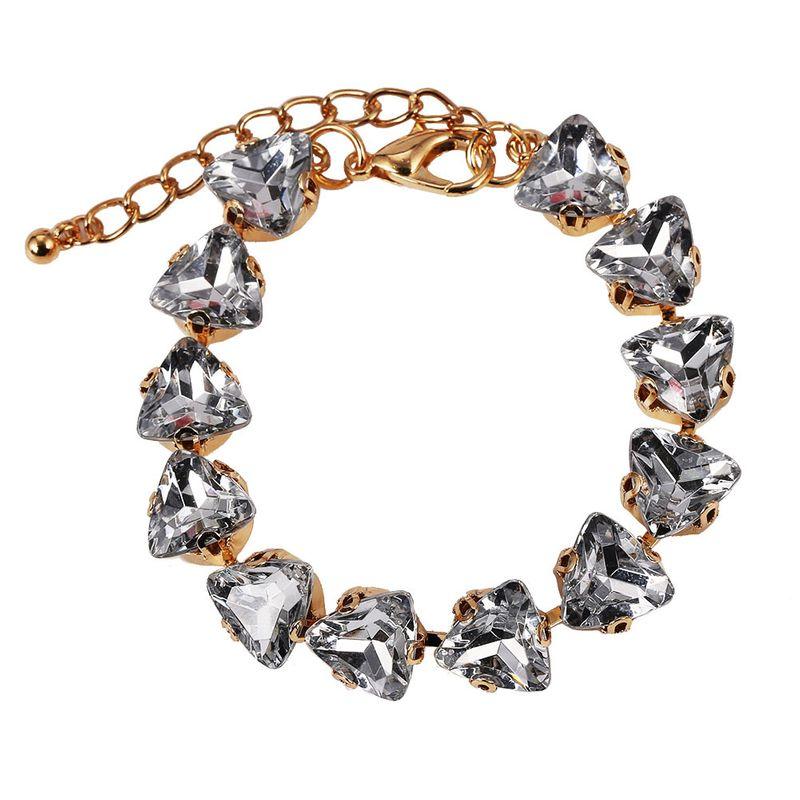 Alloy Fashion Geometric bracelet  (Style one)  Fashion Jewelry NHJQ11255-Style-one