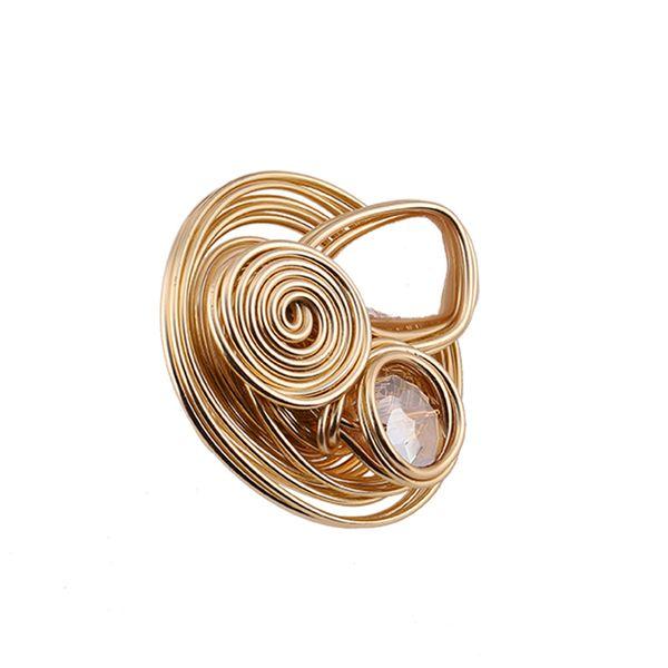 Alloy Fashion Geometric Ring  (Style No.-7)  Fashion Jewelry NHJQ11266-Style-No.-7