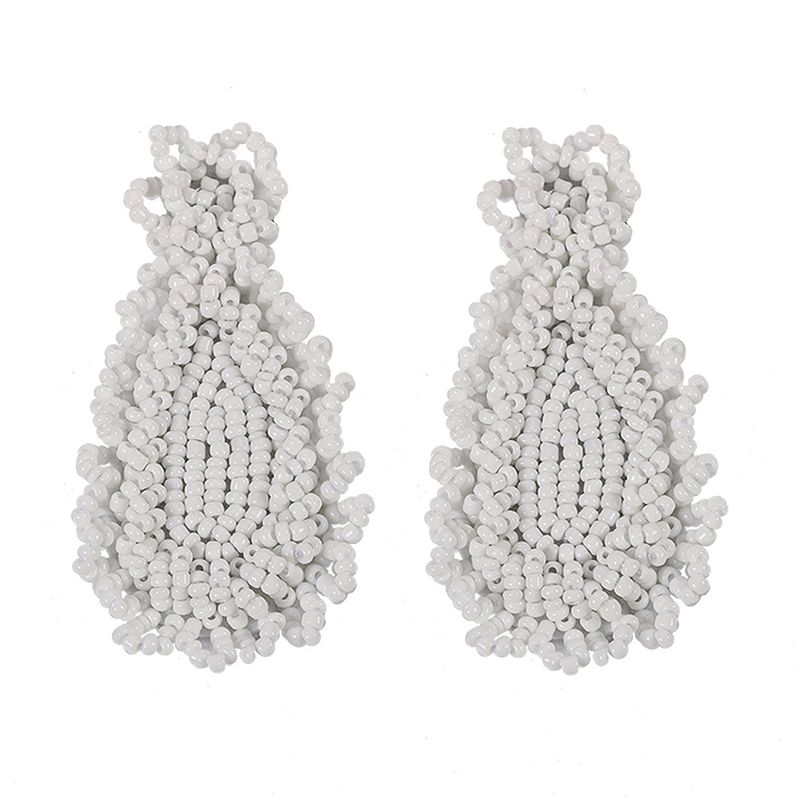Alloy Fashion Tassel earring  white  Fashion Jewelry NHJQ11269white