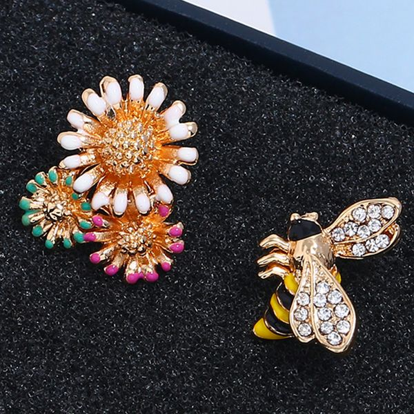 Alloy Bohemia Flowers earring  (Colorful KC alloy)  Fashion Jewelry NHKQ2329-Colorful-KC-alloy