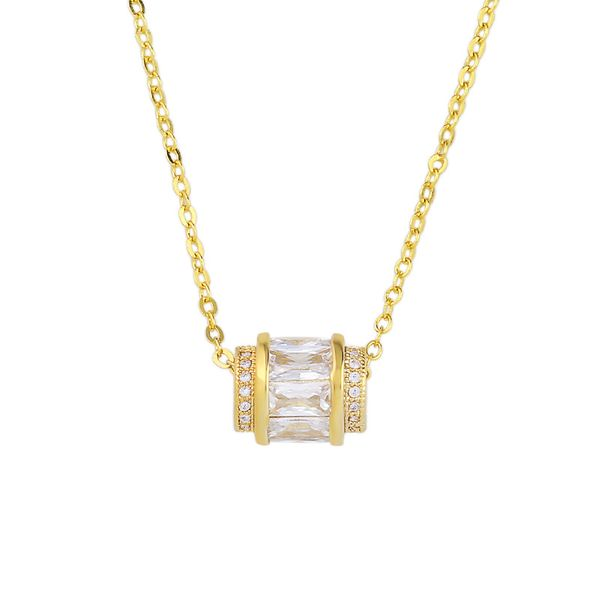 Alloy Korea Geometric necklace  (Alloy)  Fashion Jewelry NHAS0517-Alloy