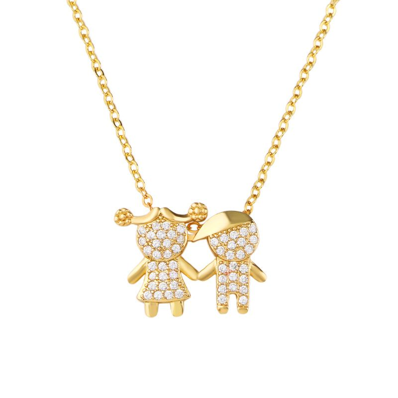 Alloy Korea Cartoon necklace  (Alloy)  Fashion Jewelry NHAS0519-Alloy