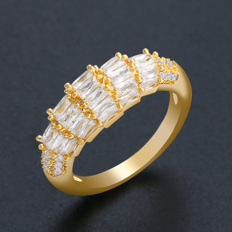 Alloy Simple Geometric Ring  (Alloy-7)  Fashion Jewelry NHAS0538-Alloy-7