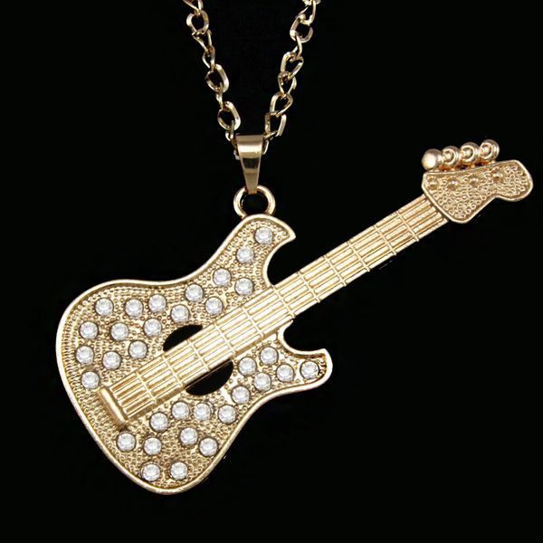 Alloy Fashion Geometric necklace  (Big guitar alloy)  Fashion Jewelry NHAS0556-Big-guitar-alloy