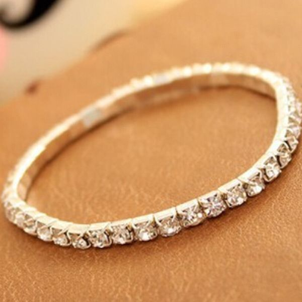 Alloy Korea Geometric bracelet  (Alloy 1 row)  Fashion Jewelry NHAS0572-Alloy-1-row