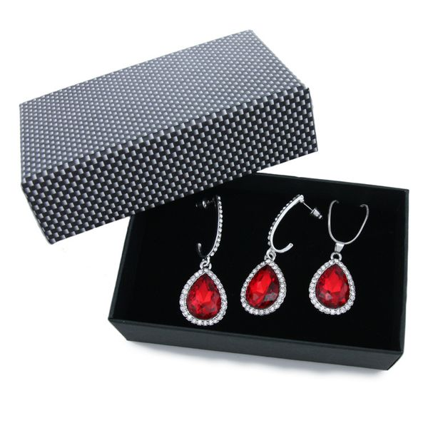 Alloy Vintage  necklace  (red)  Fashion Jewelry NHAS0581-red