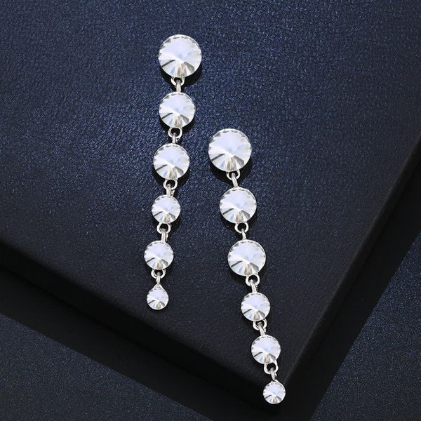 Alloy Fashion Geometric earring  (white)  Fashion Jewelry NHAS0586-white