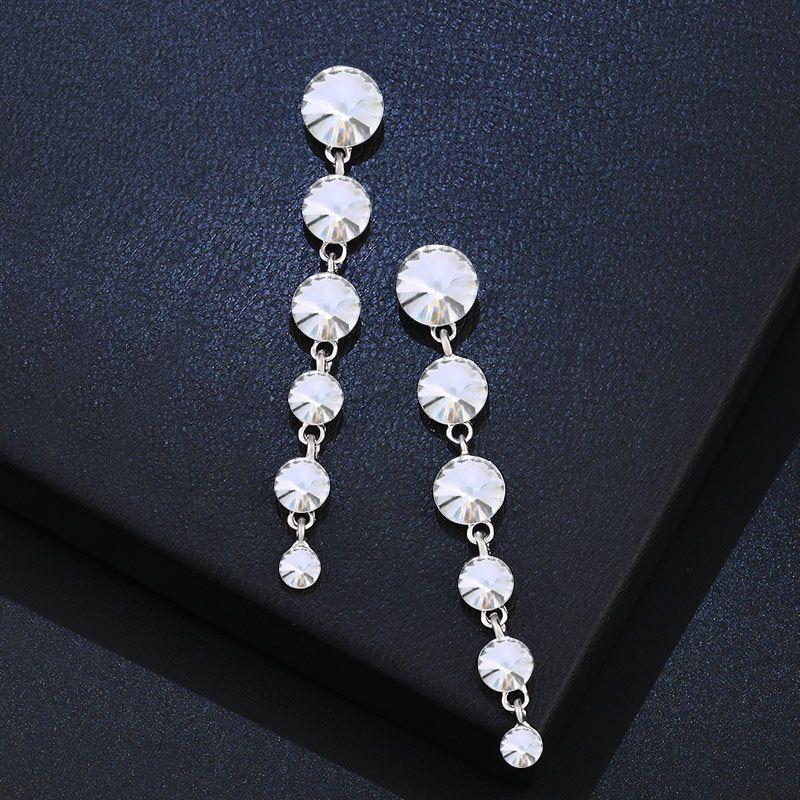 Alloy Fashion Geometric earring  white  Fashion Jewelry NHAS0586white