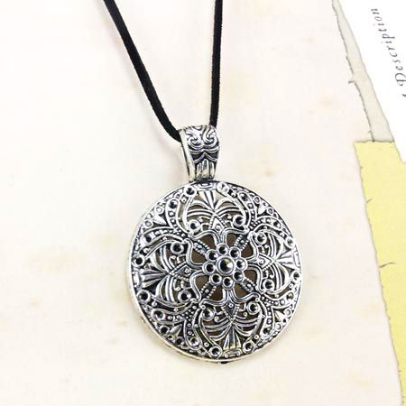 Alloy Vintage Geometric necklace  (Alloy)  Fashion Jewelry NHAS0607-Alloy