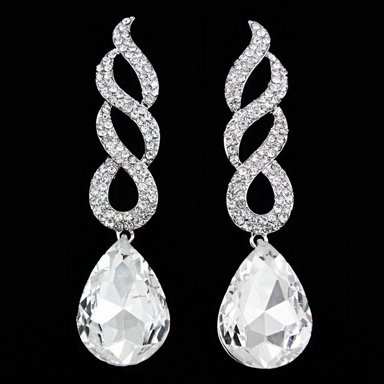 Alloy Fashion Geometric earring  (white)  Fashion Jewelry NHAS0611-white