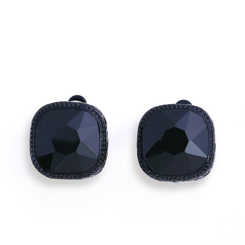 Alloy Fashion Geometric earring  black  Fashion Jewelry NHAS0614black