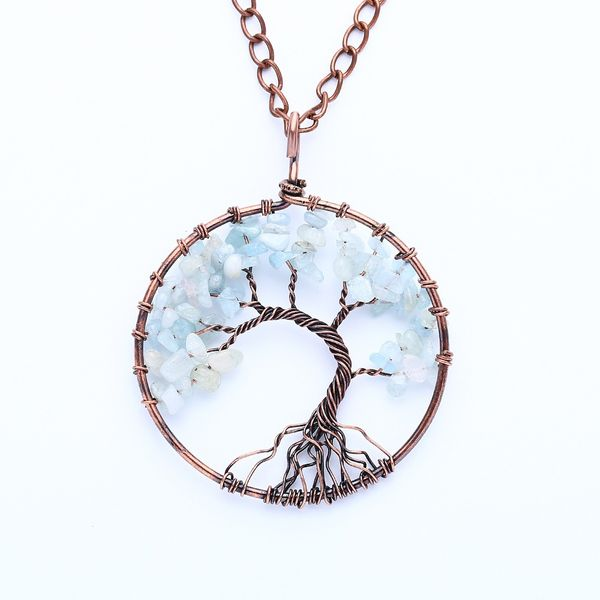 Alloy Fashion bolso cesta necklace  (Sea gem)  Fashion Jewelry NHAS0624-Sea-gem
