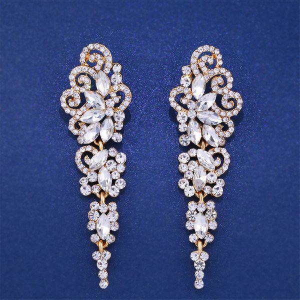 Alloy Fashion Tassel earring  (Alloy)  Fashion Jewelry NHAS0633-Alloy