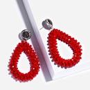 Alloy Korea bolso cesta earring  white  Fashion Jewelry NHAS0463white