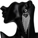 Acrylic Fashion Sweetheart earring  Alloy  Fashion Jewelry NHJE2614Alloy