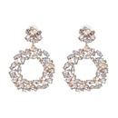 Alloy Fashion Geometric earring  white  Fashion Jewelry NHJJ5549white