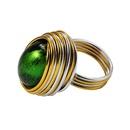 Alliage Fashion Geometric Ring Purple7 Bijoux fantaisie NHJQ11259Purple7