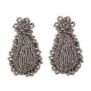 Alloy Fashion Tassel earring  white  Fashion Jewelry NHJQ11269white