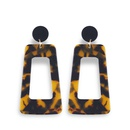 Acrylic Fashion Geometric earring  Dark  Fashion Jewelry NHAS0502Dark
