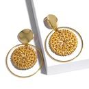 Alloy Fashion Geometric earring  Erp39 beige  Fashion Jewelry NHAS0527Erp39beige