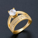 Alloy Simple Geometric Ring  Alloy7  Fashion Jewelry NHAS0536Alloy7