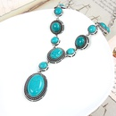 Alloy Fashion Geometric necklace  green  Fashion Jewelry NHAS0554green
