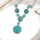Alloy Fashion Geometric necklace  green  Fashion Jewelry NHAS0580green