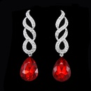 Alloy Fashion Geometric earring  white  Fashion Jewelry NHAS0611white