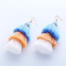 Cloth Bohemia Tassel earring  1  Fashion Jewelry NHAS06151