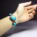 Alloy Bohemia Geometric bracelet  red  Fashion Jewelry NHAS0626red