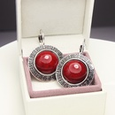 Alloy Fashion Geometric earring  red  Fashion Jewelry NHAS0629red