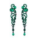 Alloy Fashion Tassel earring  black  Fashion Jewelry NHAS0632black