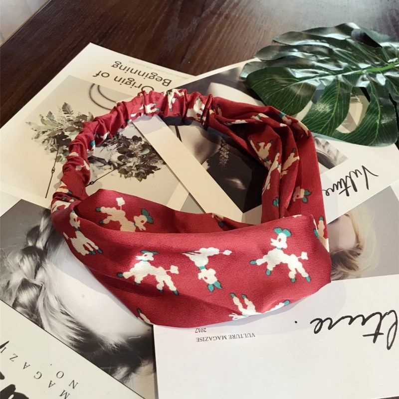 Cloth Korea Animal Hair accessories  (red)  Fashion Jewelry NHSM0164-red