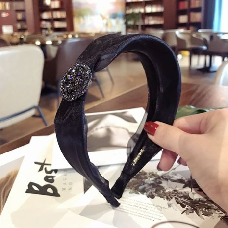 Cloth Korea Bows Hair accessories  (black)  Fashion Jewelry NHSM0176-black's discount tags