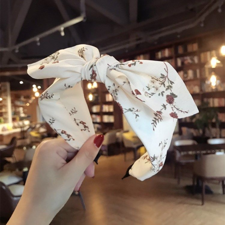 Cloth Korea Bows Hair accessories  (white)  Fashion Jewelry NHSM0185-white
